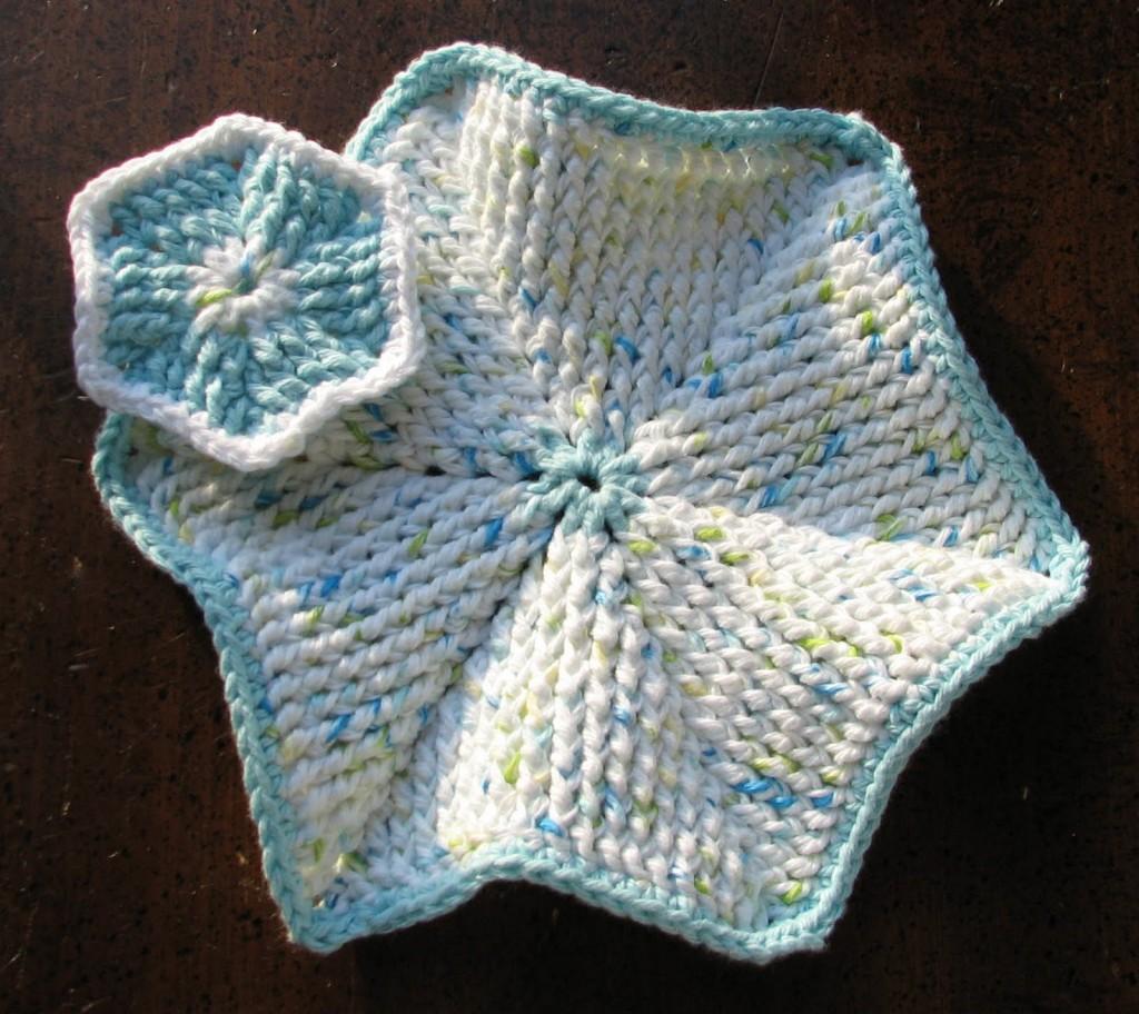 FPdc Scrubbie & Dishcloth - free crochet pattern by Ambassador Crochet.