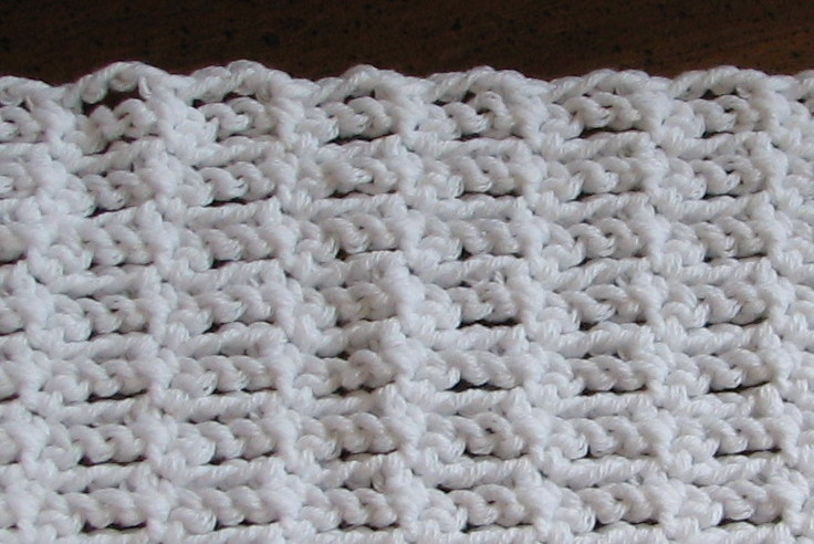 Crochet Guide : Single Crochet & Chain Stitch Variation - Stitch-of-the-Week
