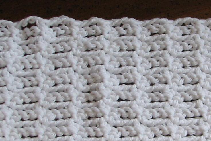 Single Crochet Chain Stitch Variation Ambassador Crochet