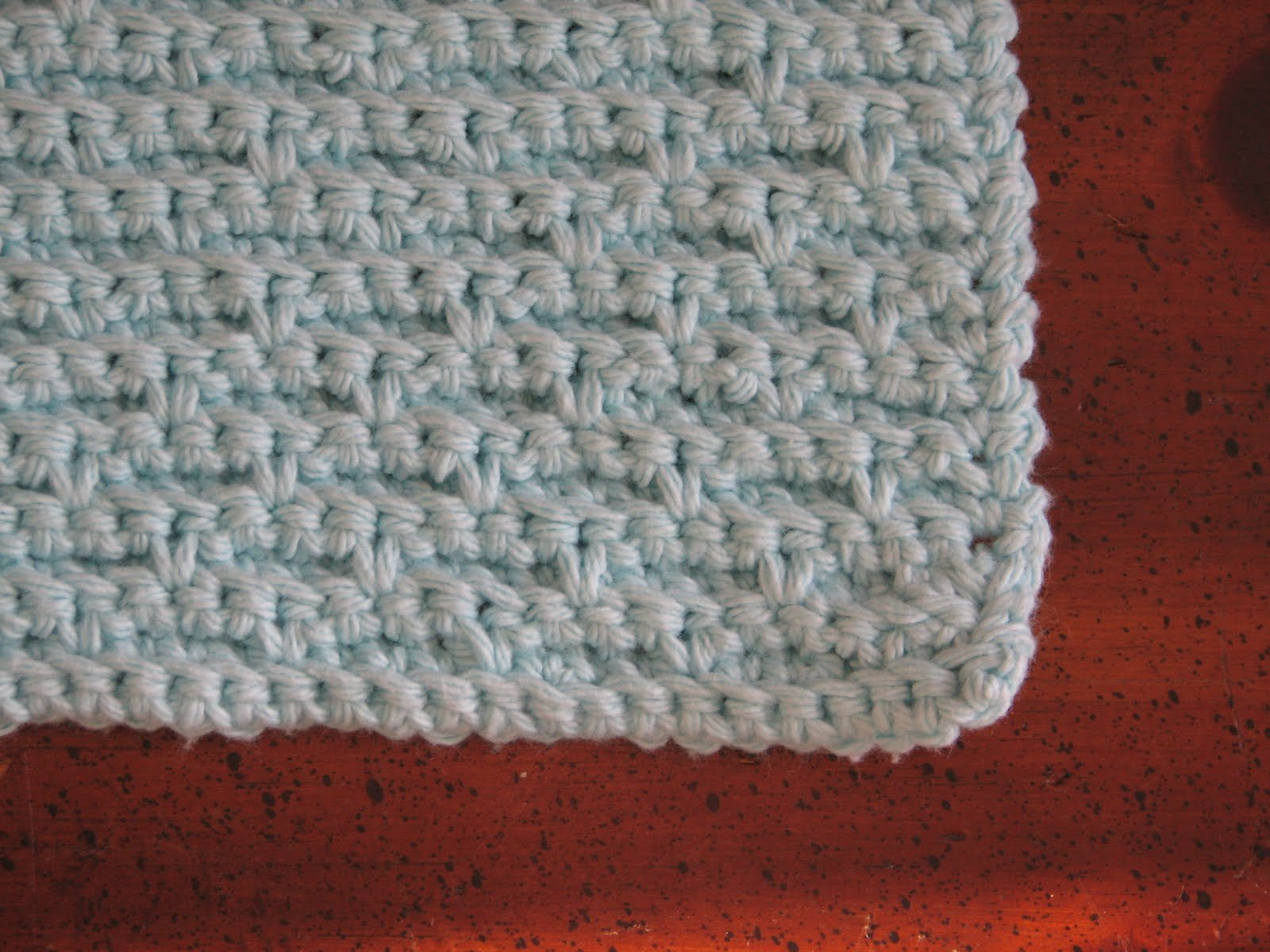 Crochet Stitches Basket : Basket Stitch Dishcloth - Ambassador Crochet Ambassador Crochet