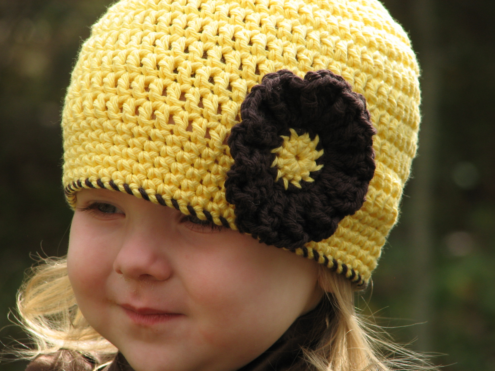 Free Patterns Crochet Beanies : Sunshine Beanie Crochet Pattern Giveaway - Ambassador ...