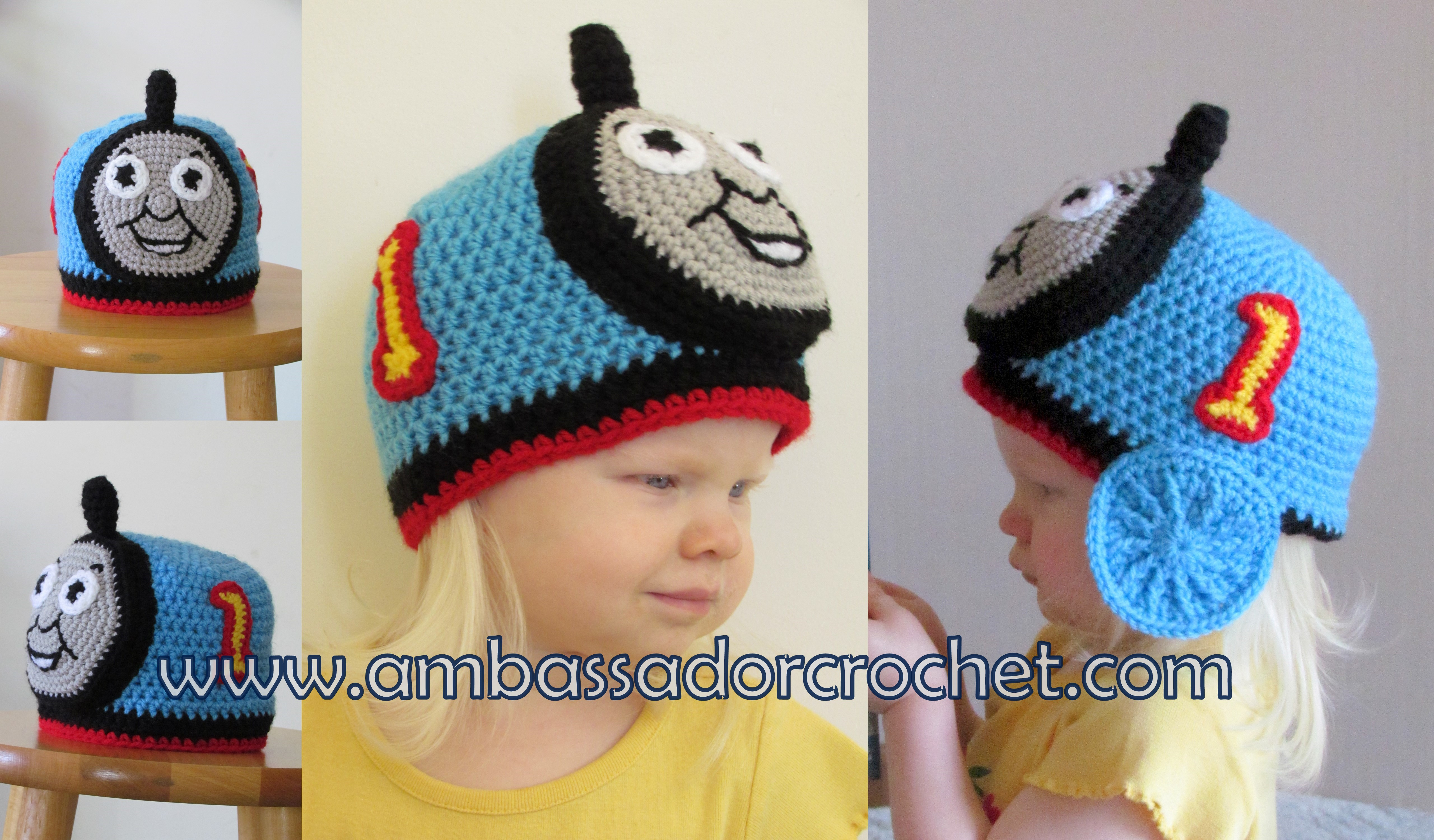 Free Crochet Hat Pattern For Thomas The Train : Pics Photos - Related Pictures Thomas The Train Crochet ...