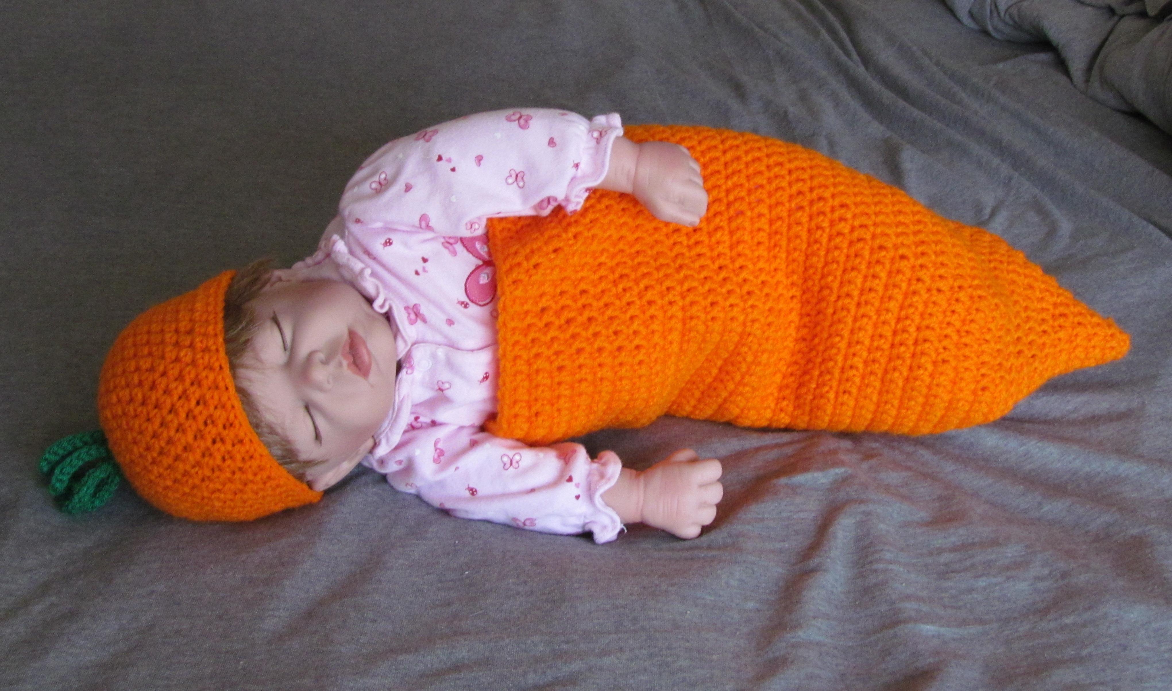 Free Crochet Carrot Cocoon Pattern : Carrot Cocoon Crochet Pattern - Ambassador Crochet ...
