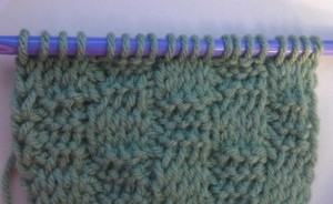 Tunisian Basket Weave Stitch