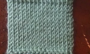 TKS - tunisian knit stitch
