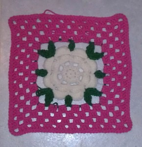 American Beauty Rose Free Crochet Pattern