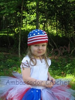 American Flag Patriotic Hat