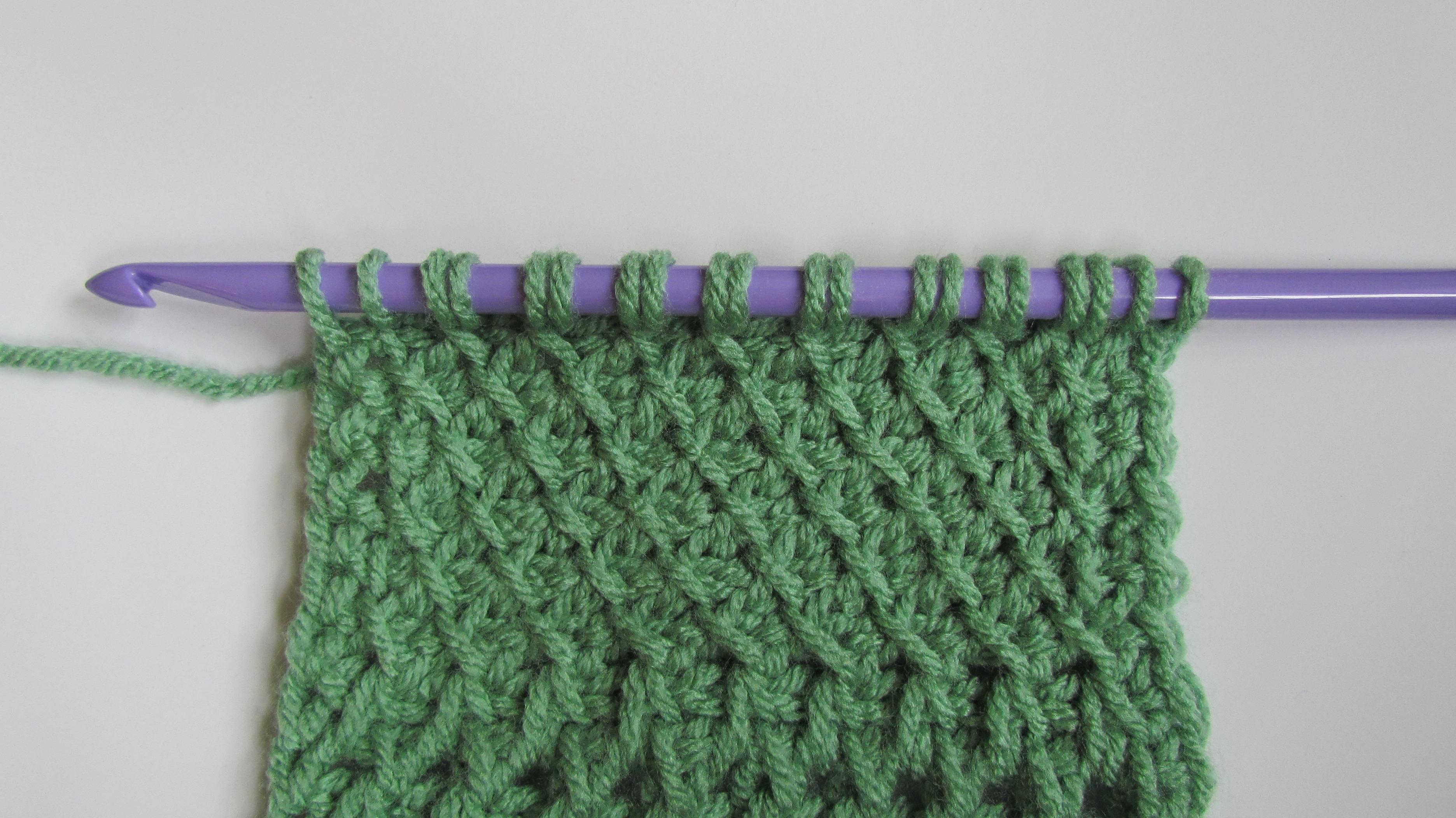 Ambassador CrochetTunisian Sampler Scarf Archives ...