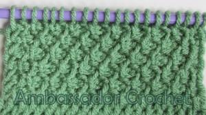 Tunisian Sampler Scarf Cal Part 11 Ambassador Crochet