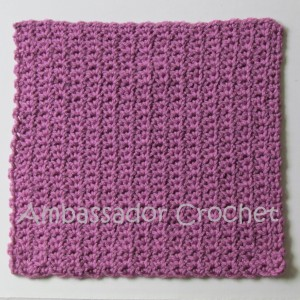 free afghan square crochet pattern