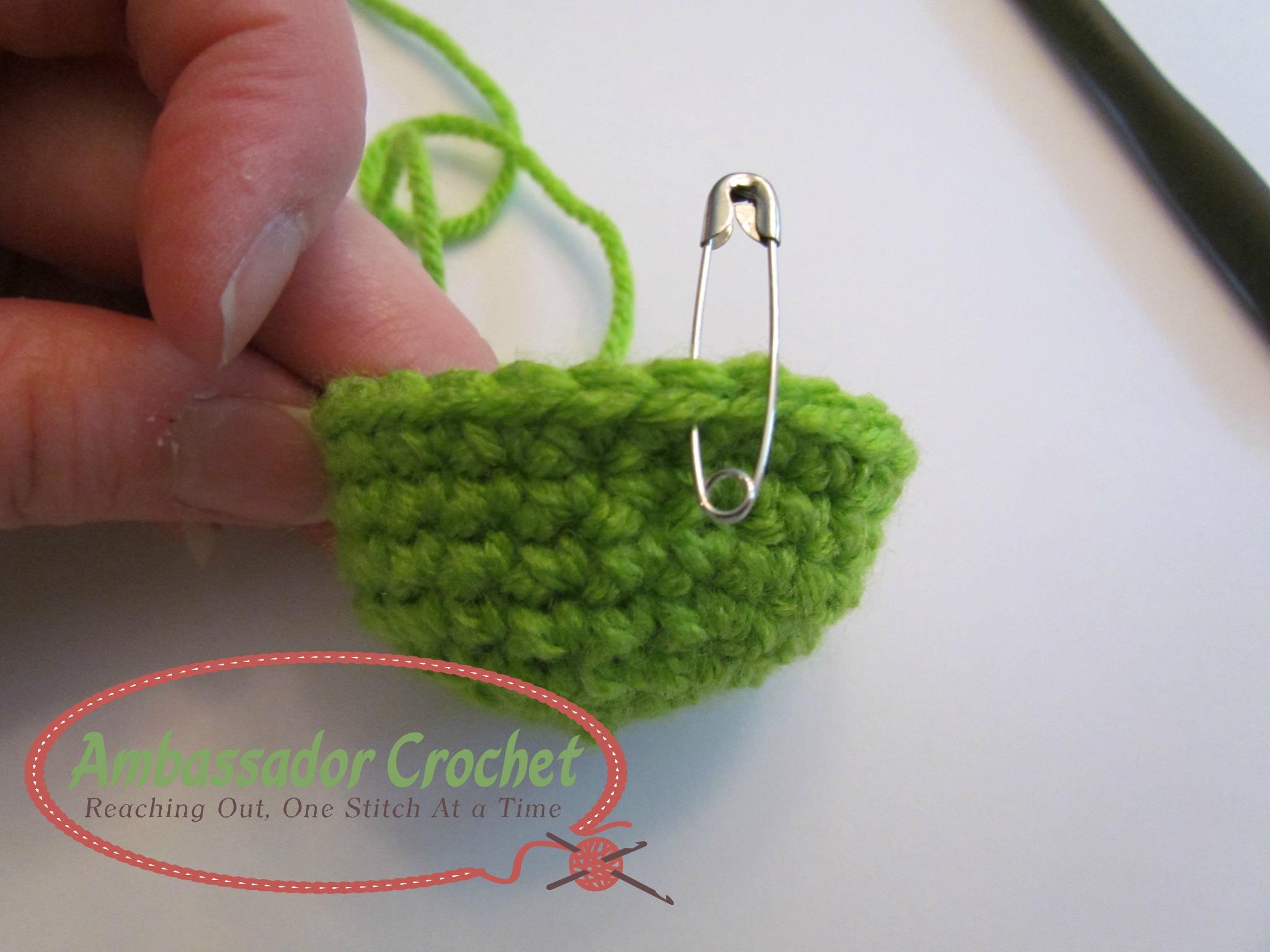 Crochet Stitch Markers : Crochet Stitch Markers