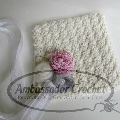 crochet baby bonnet pattern