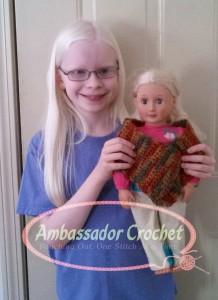 Rachael's doll scarf logo