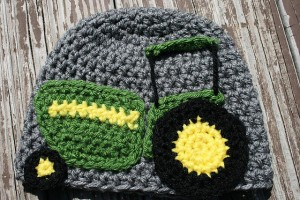 T is for Tractor Applique