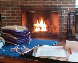 Fireplace Crochet