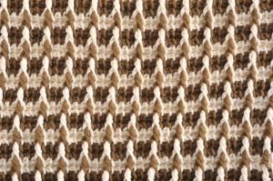 Tunisian Crochet for Baby Checkerboard