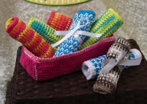 Tunisian Crochet for Baby Sharon Silverman