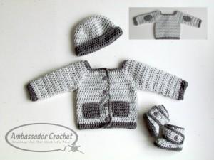 Oliver Crochet Pattern