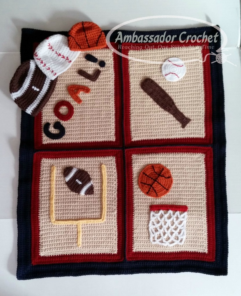 Crochet Pattern For Sports Blanket : Finding the Perfect Design Ideas - Ambassador Crochet ...