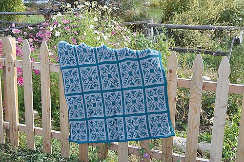 Elisha Afghan - Fair Isle Tunisian Crochet book review
