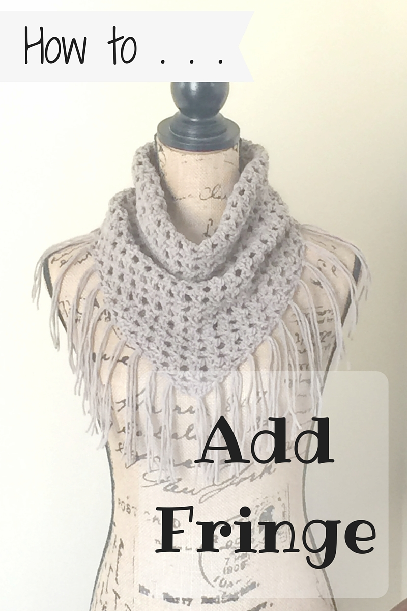 How to Add Fringe to Your Crochet Project in 5 Simple Steps