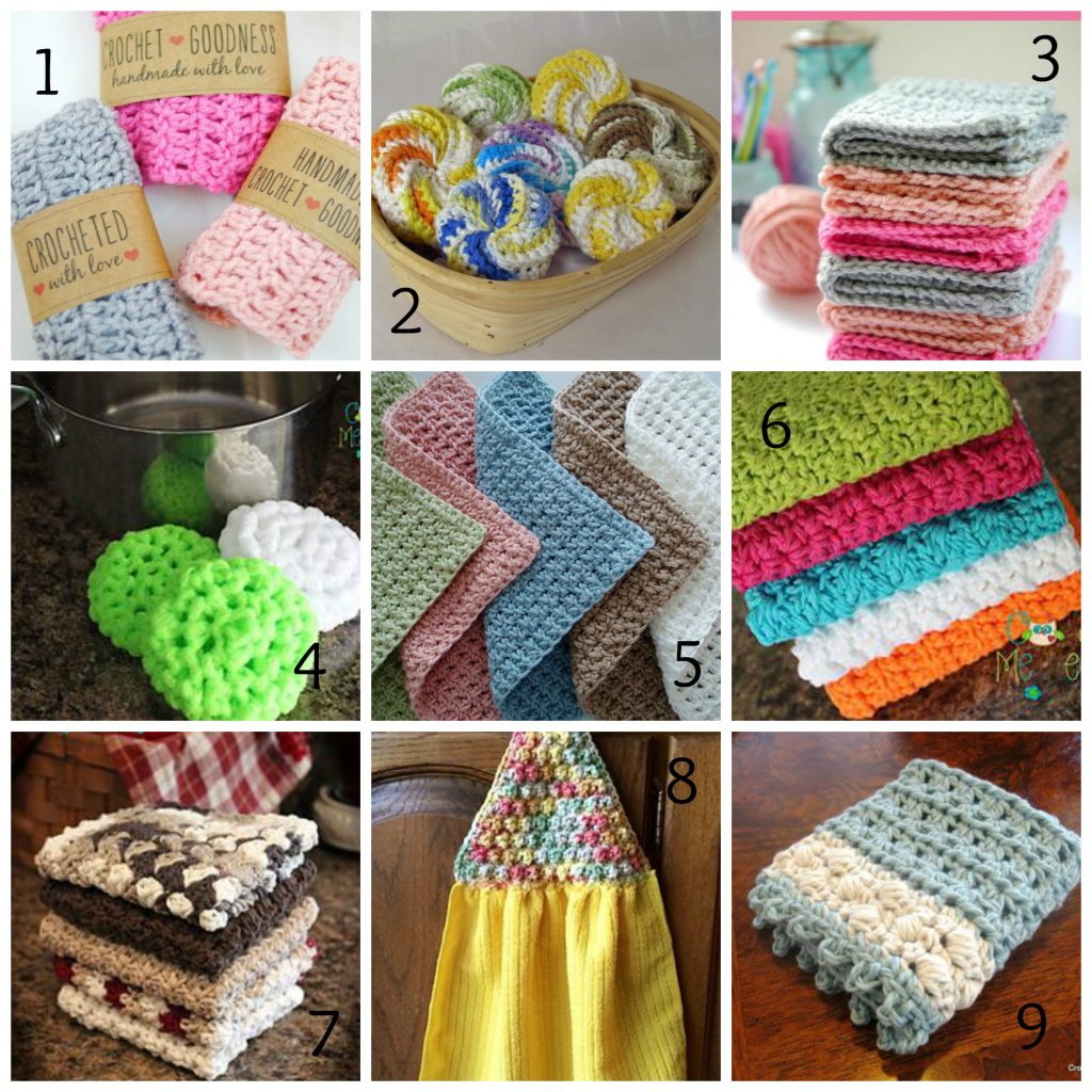 Craft Fair Projects - Part 1 - Tawashi & Dishcloth Roundup