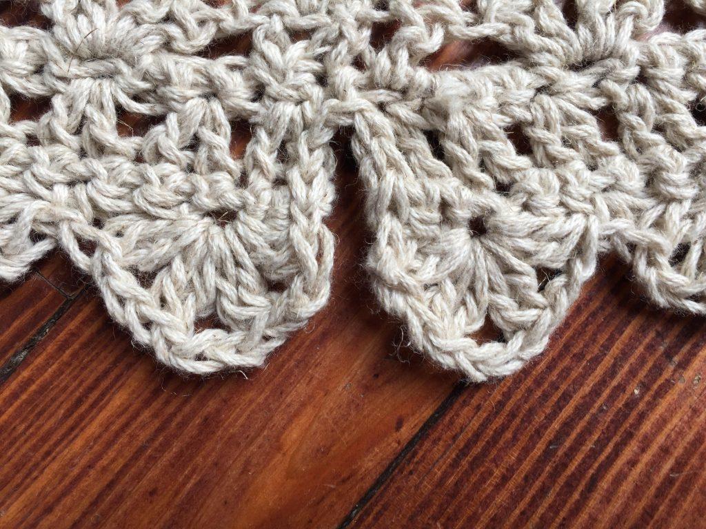 Ava Shell peplum - free CAL by Ambassador Crochet.