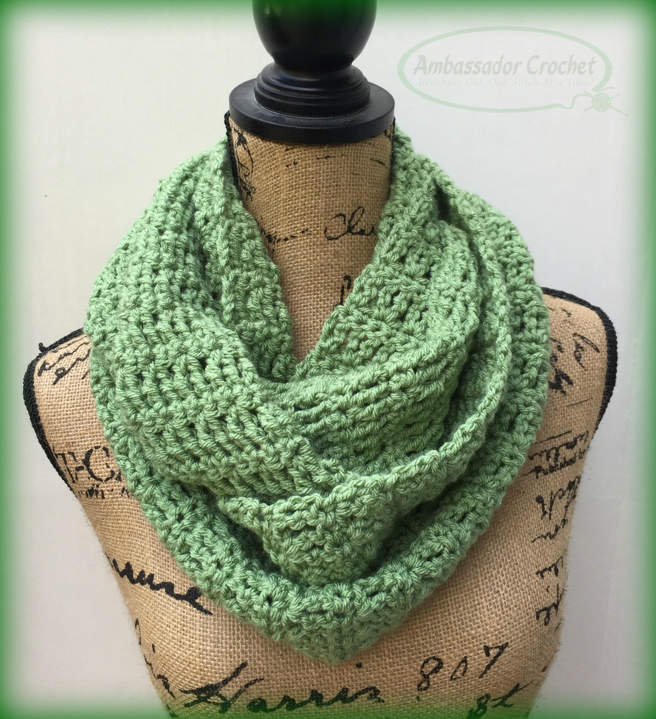 ambassador crochet reaching out one stitch at a time