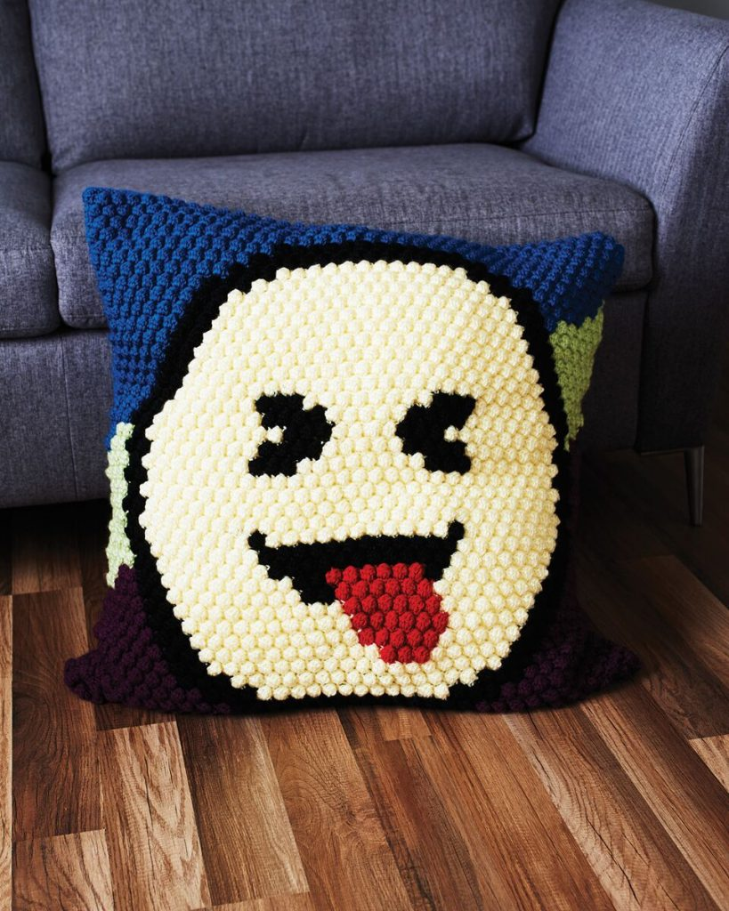 Mega Cusion from Emoji Crochet - book review by Ambassador Crochet.