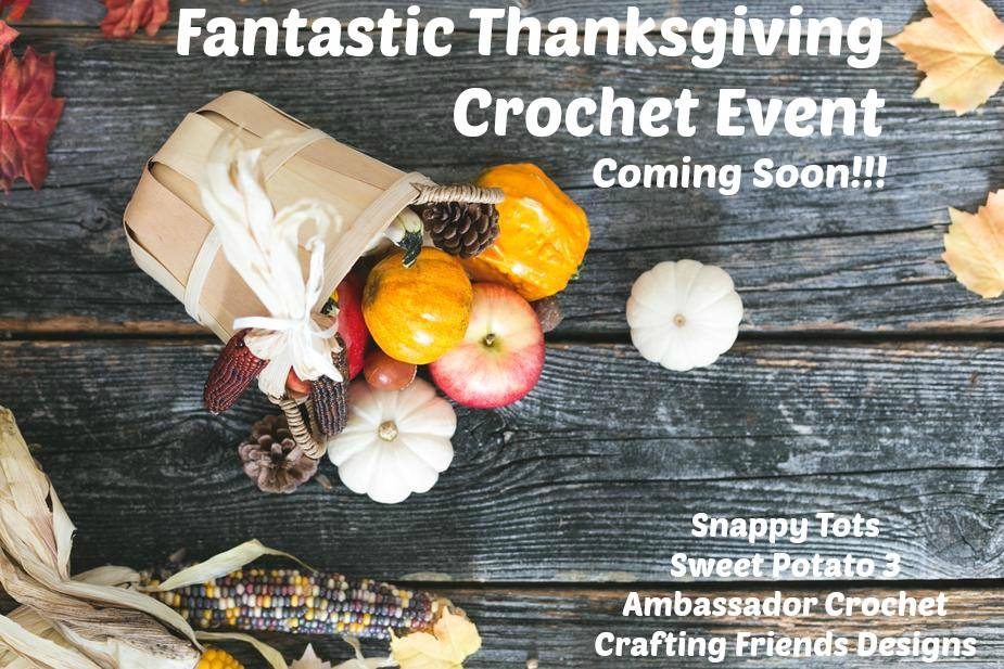 10 Days of Thanksgiving Crochet Event
