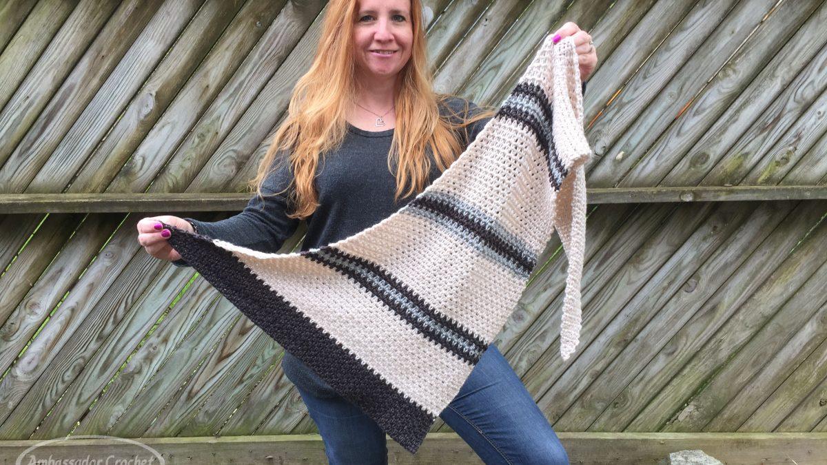 Boardwalk Shawlette CAL by Ambassador Crochet