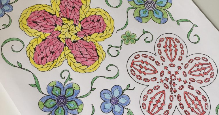 Free Crochet Coloring Pages