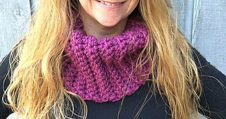Sunset Ridge Cowl – Free Crochet Pattern