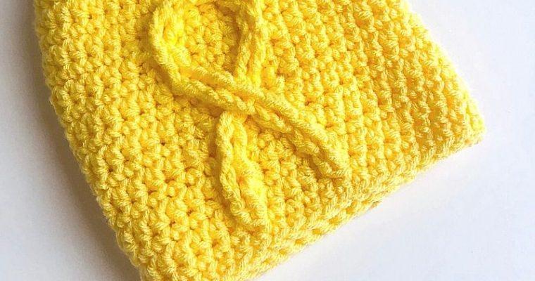 Warrior Ribbon Hat Crochet Pattern