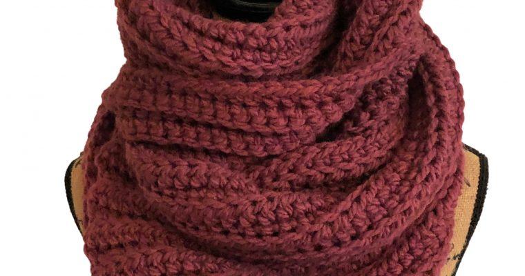 Easy Super Scarf – Free Crochet Pattern